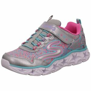 NEU-Skechers-Kinder-Low-10920L-SMLT-silber-412988