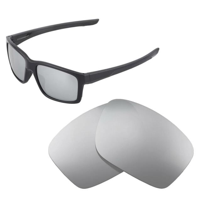 4b0ee9a0b4 Walleva Polarized Titanium Replacement Lenses For Oakley Mainlink Sunglasses