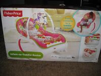 Fisher Price Infant To Toddler Rocker Baby Seat Bouncer Sleeper Swing Play