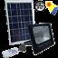 miniatura 2 - FARO-FARETTO-LED-10-A-300W-CON-PANNELLO-SOLARE-RICARICABILE-ENERGIA-CREPUSCOLARE