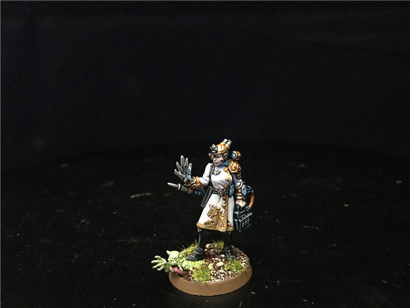 25mm Warhammer 40K Kill Team lådaade spel DPS målade Sanistasia Minst AP5515