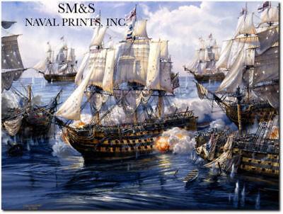 "Artist Proof USS Congress 1801 /""Salute To Washington/"" Tom Freeman Naval Art"