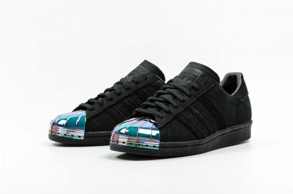 Brand New ADIDAS Superstar 80S Metal Toe W Trainers  S76710Taille 5.5