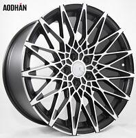 19X8.5 AodHan LS001 5X120 +30 Black Rims Fits Bmw 525xi 530xi 535 xi e60 (awd)