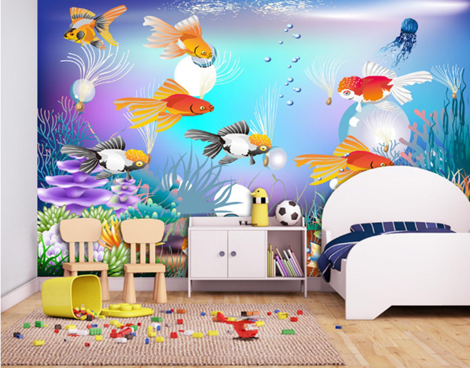 3D Marine Seaweed 838 Wallpaper Mural Paper Wall Print Wallpaper Murals UK Kyra
