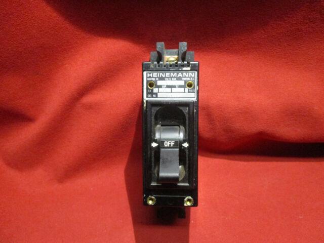 5pc ETA 45-700-p 10 Amp Circuit Breaker 1 Pole 250vac 28vdc