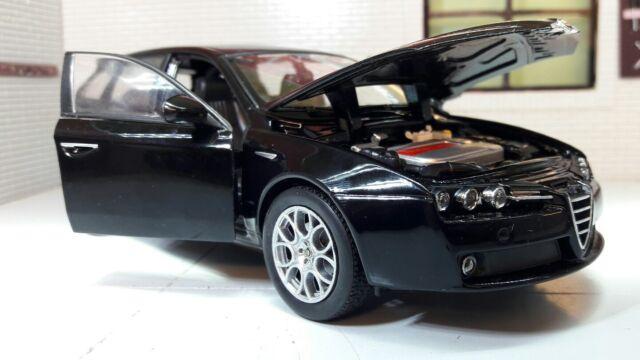 ALFA ROMEO Sportwagon In Black Scale Model By Welly EBay - Alfa romeo scale models