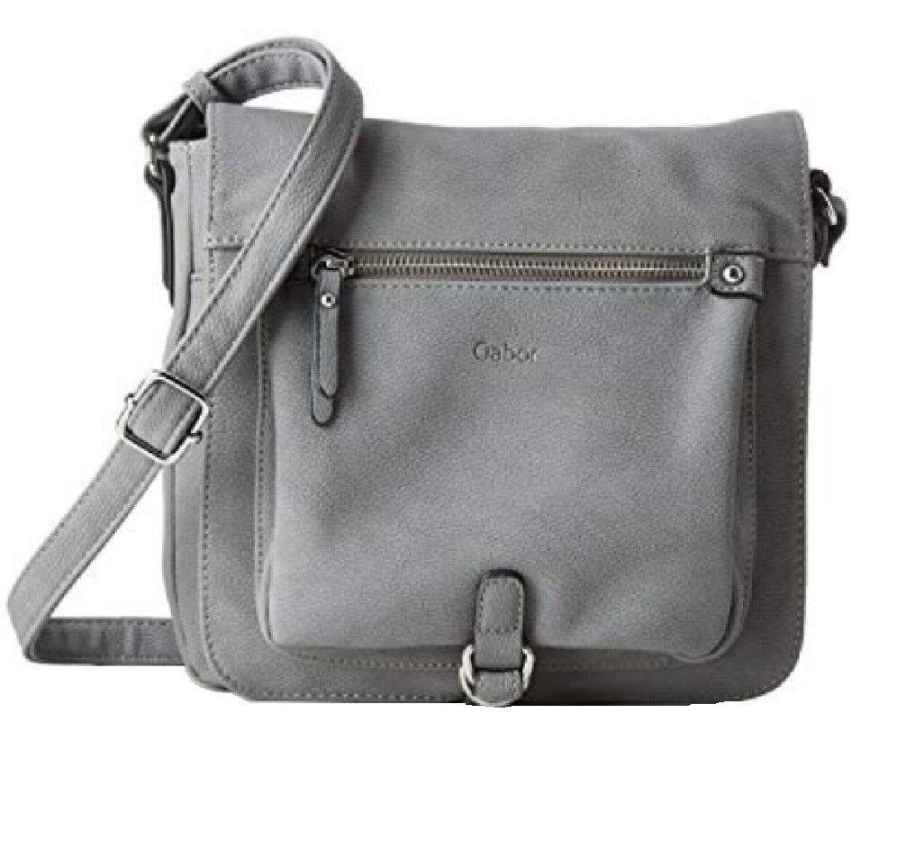 Gabor Umhängetasche Hanne Hanne Hanne  Damen Tasche Handtasche blau   grau Flapbag 54093 | Verrückter Preis  175250