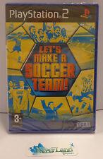 Gioco Game SONY Playstation 2 PS2 PAL ITA SEGA LET'S MAKE A SOCCER TEAM - NUOVO