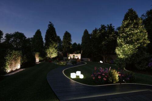Paulmann Plug /& Shine ZigBee RGBW Spot Pike mit Erdspieß 4W Anthrazit 24V Garten