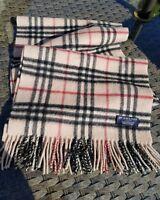 Burberry nova check cashmere ladies scarf