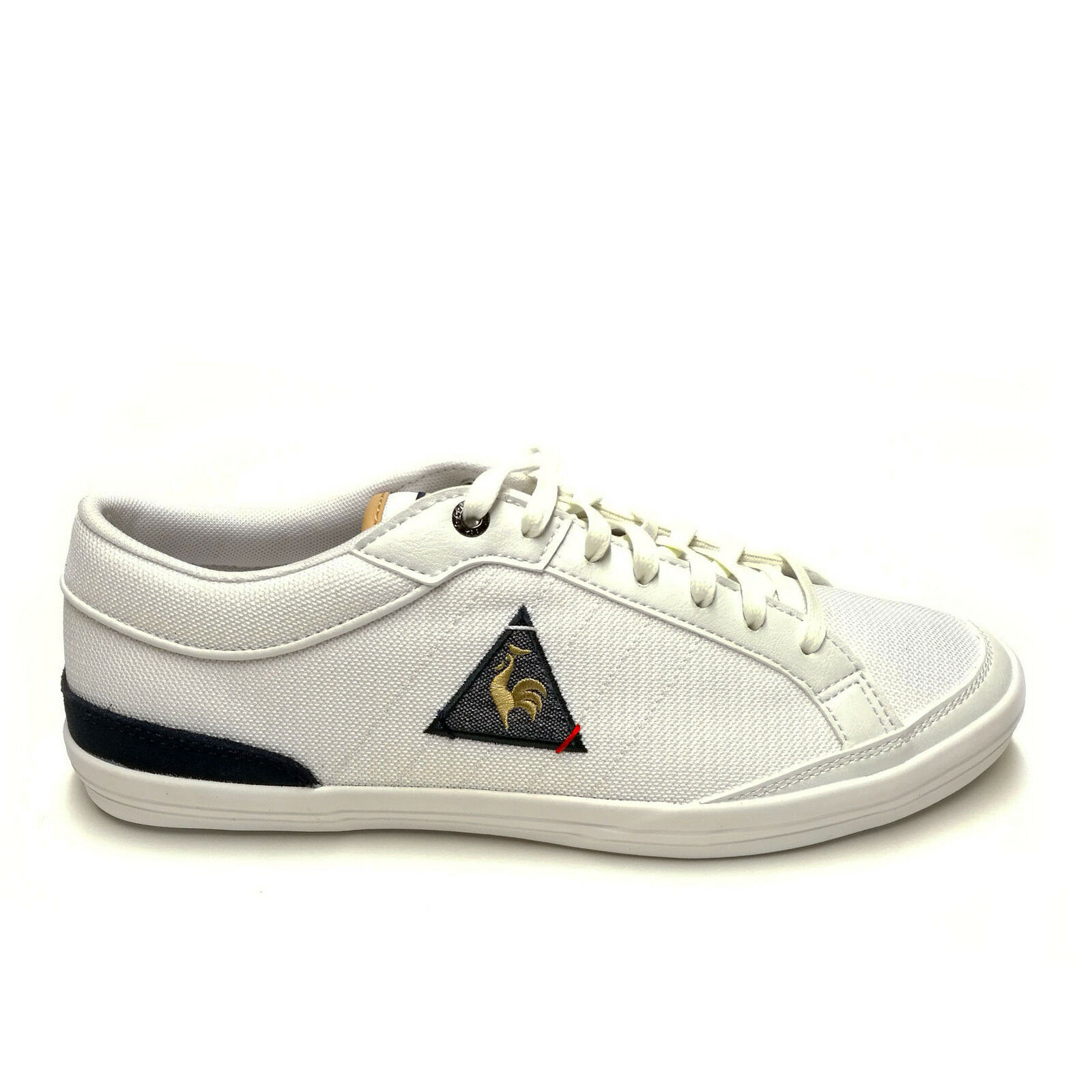 Scarpe casual da uomo Shoes Le Coq Sportif Feretcraft Nylon 1710095 Sneakers Leather Man Optical White
