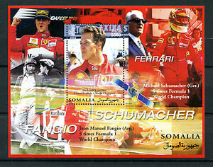 Somalia 2002 MNH Michael Schumacher Ferrari 1v MS Formula 1 F1 Sports Stamps - <span itemprop=availableAtOrFrom>London, London, United Kingdom</span> - Returns accepted within 21 days. Most purchases from business sellers are protected by the Consumer Contract Regulations 2013 which give you the right to cancel the purchase within - London, London, United Kingdom
