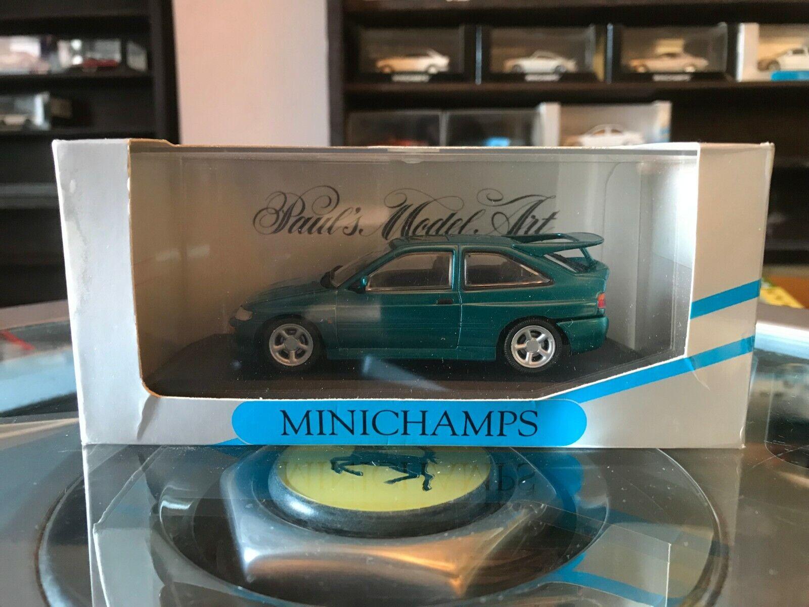Minichamps Ford Escort RS Cosworth 1992 Metallic Green 1 43 MIB MIN 082102