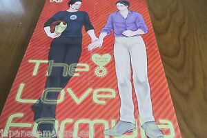 Doujinshi-Avengers-Yaoi-Tony-X-Bruce-Anthology-A5-142pages-The-Love-Formula