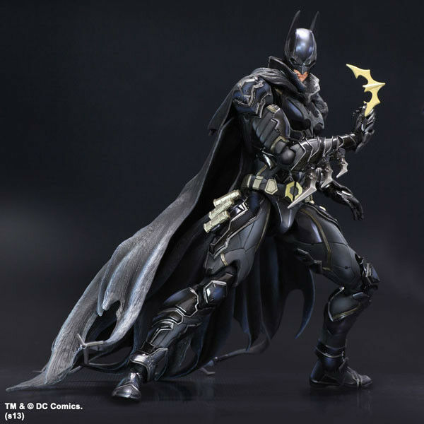 Variant Play Arts Kai Batman Limited Coloree Ver. PVC Action Figure New In Box