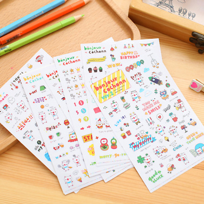 Planner//Diary//Scrapbooking Stickers Birthday Stickers Glossy Paper