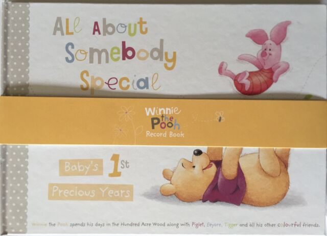 199f84ade8bc Hallmark Winnie the Pooh Baby First Years Keepsake Record Book-Christening  Gifts