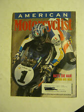 May 2001 American Motorcyclist Magazine  (BD-47)