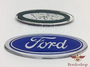 Unique-Light-Blue-Badge-Emblem-Logo-For-Ford-Escort-Sierra-Cosworth-45X115mm