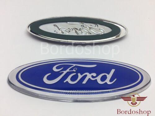 Única Celeste Ford Emblema Insignia Logo Escort Sierra Capri Cosworth 45x115mm