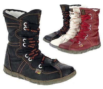 TMA Damen Stiefeletten Winterschuhe Boots Warmfutter Freizeit Comfort Schuh 2013 | eBay