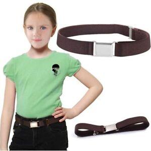 Baby Toddler Kids Boy Girls Elastic Baseball Belt Adjustable Buckle Waist Band