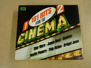 4-CD BOX / 101 HITS FROM THE CINEMA