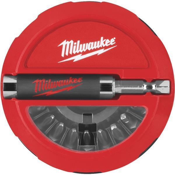 10 Pk Milwaukee Extremely Durable Premium 20-Piece Insert Screwdriver Bit Set