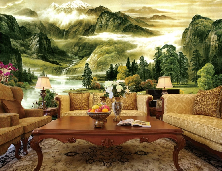 3D Scenery Painting 74 Wall Paper Murals Wall Print Wall Wallpaper Mural AU Kyra