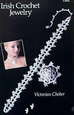 Irish Crochet Jewelry Victorian Choker  Annie's Attic Pattern