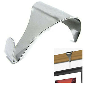 10 X Chrome Finish Picture Rail Moulding Hooks Dado Frame Mirror Picture Hanging 5057502815033 Ebay