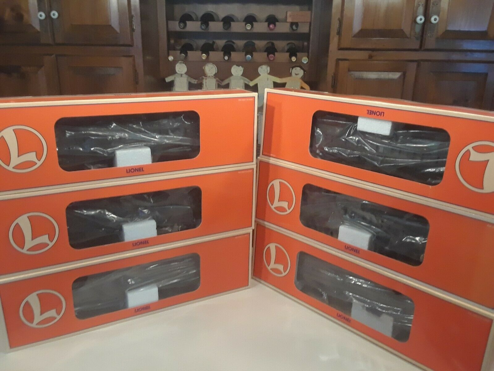 Lionel NYC Pullman Hvy Cars (9), 6-19056-19059, 19067-8, 19094-5, 29008