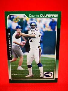 Score 2000 carte card football NFL NM+/M Minnesota Vikings #111 Daunte Culpepper