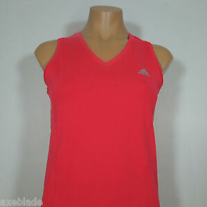 Details about ADIDAS Performance Essentials V-Neck Pink Active Top, Clima  365 Women's size M