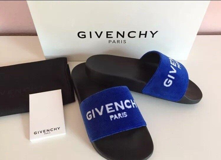 Givenchy Pantolette blau Gr. 37