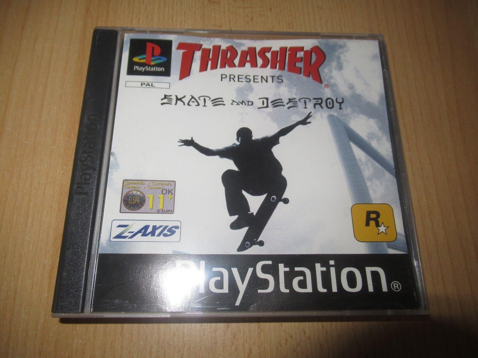 thrasher presents skate and destroy soundtrack