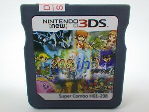 208-in-1-Game-Games-Cartridge-Multicart-For-Nintendo-DS-NDS-NDSL-NDSi-2DS-3DS