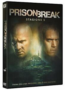 Dvd-Prison-Break-Stagione-5-3-DVD-Serie-Tv-NUOVO