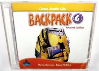 Pearson Longman Backpack 6 Second Edition Class Audio Cds 2 Cd Educational >new