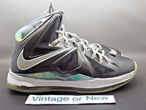 timeless design 7078c 66b38 Image is loading Nike-LeBron-X-10-Prism-sz-9-5