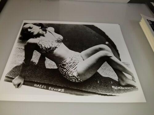 VINTAGE 8 X 10 PHOTOGRAPH FROM IRVING KLAWS ARCHIVES OF HAZEL BROOKS LOT #2