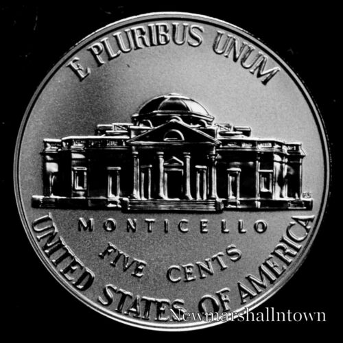 2018 S Jefferson Nickel Reverse Proof ~ Coin from Reverse Mint Proof Set
