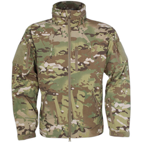 Viper Tactical Elite Military Army Water Resistant MicroShell Jacket V-CAM MTP