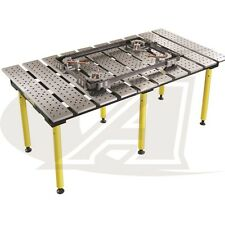 "BuildPro™ 6.5' (1.98m) x 3' Welding Table: 30"" High - Standard Finish"
