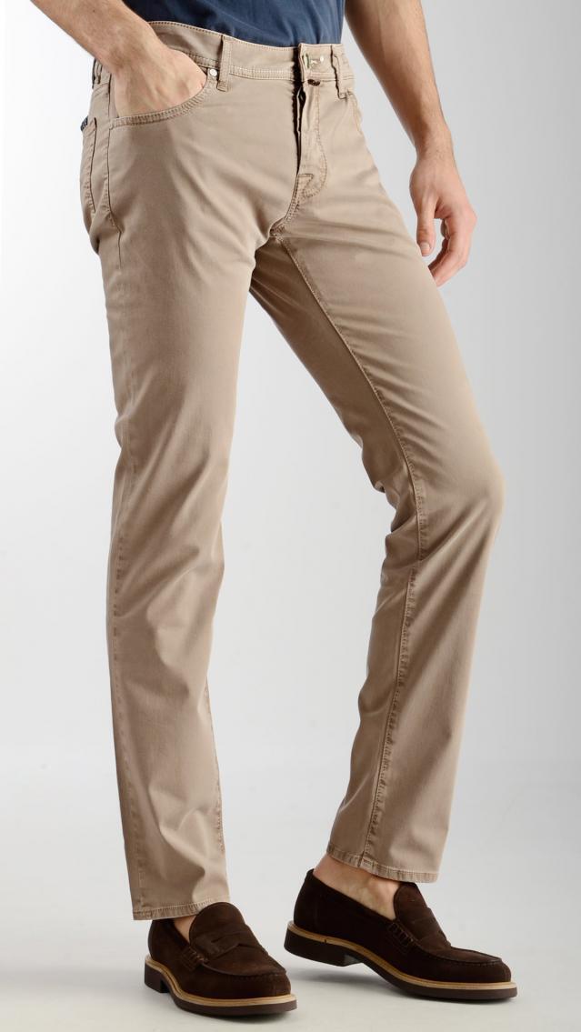 Jacob Cohen pantalone  uomo in cotone PW622 comf beige  (23JU)
