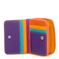 Mywalit Leather Wallet Purse Zippered Closure 11cm Gift Boxed Copacabana