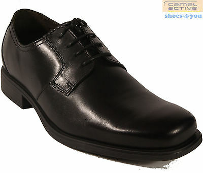 CAMEL ACTIVE Business Schuhe schwarz Schnürschuhe Gummisohle echt Leder NEU   eBay