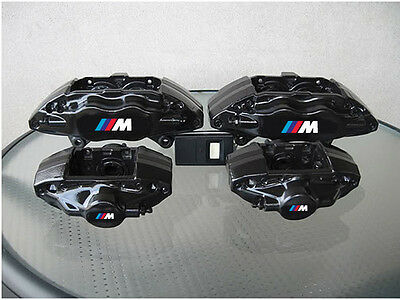 4 x BMW M Brake Caliper Stickers M3 M5 M6 E36 E39 E46 E63 E90 Decals Emblem Logo