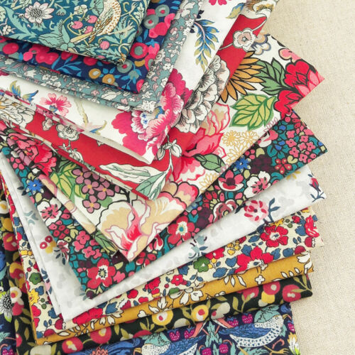quilting dressmaking floral christmas Liberty ~ Royal Peony A Tana Lawn Fabric